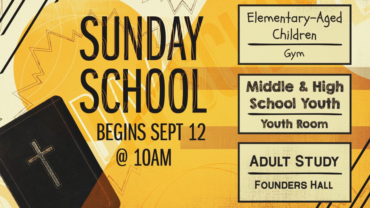 Sunday School & Bible Class